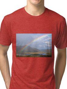 Ladies View - Ring of Kerry - Ireland Tri-blend T-Shirt