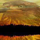 Autumn Reflections ll by Gail Bridger