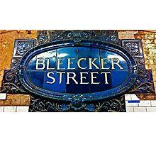 Bleecker Street Photographic Print
