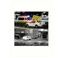 Like Night and Day - Taxi - 2009 Portfolio Project Art Print