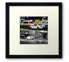 Like Night and Day - Taxi - 2009 Portfolio Project Framed Print