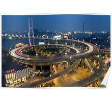 Chine - Shanghaï - Urban Trend Poster