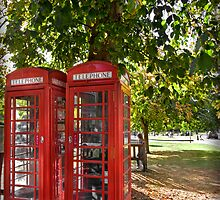 Phone Boxes by cas slater