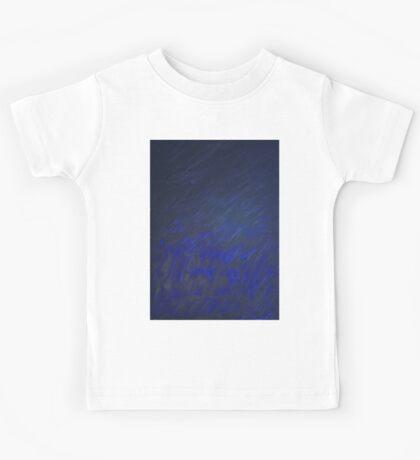Black & Blue Kids Tee