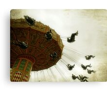 Swinging By Canvas Print