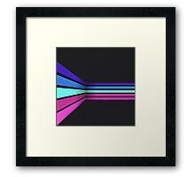 Corner. Framed Print