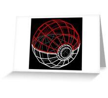Pokeball 3D Greeting Card