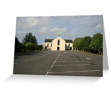 Cooraclare church Greeting Card