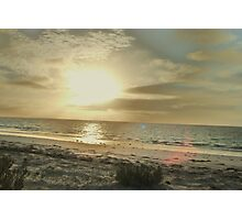 sunrise on the bight, eucla Photographic Print