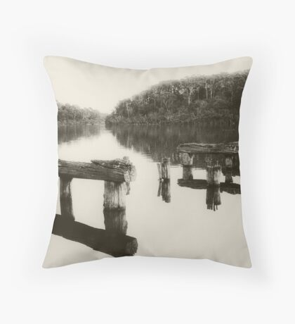 Lake Bunga Throw Pillow
