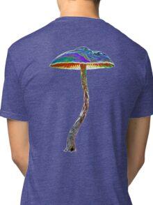 Psychedelic shroom Tri-blend T-Shirt