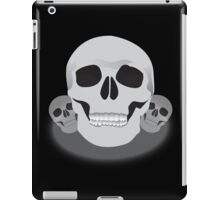 Three skulls iPad Case/Skin