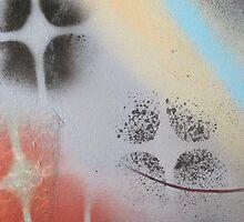 I heart stencils (detail#1) by zoe trap