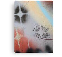I heart stencils (detail#1) Canvas Print
