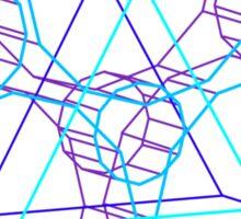 Coheed's Keywork in 3D- Serene Sticker