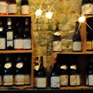 Wine Bottle Wall by H A Waring Johnson