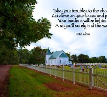 Take your troubles to the chapel by Bonnie T.  Barry