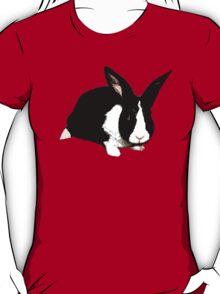 BLACK RABBIT CUTE  T-Shirt