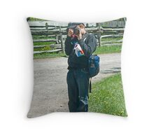 Colin Harper Throw Pillow