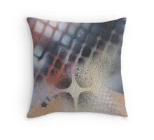 I heart stencils (detail #3) Throw Pillow