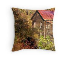 Alcovey Road Grist Mill  Throw Pillow