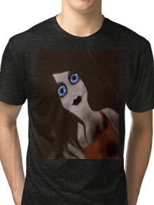 crazy doll Tri-blend T-Shirt