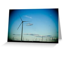 Winds, Winds Greeting Card
