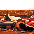 Craster Cobles by Woodie