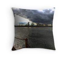 I love storms 2 Throw Pillow