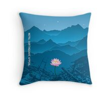 Nepal Earthquake Appeal - Pillow Throw Pillow