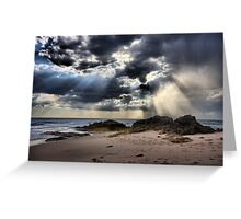 Tempest over the Ocean - Blairgowrie Greeting Card
