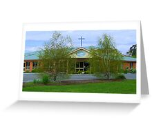 Riverlands Baptist Church Longford Greeting Card