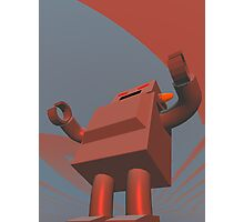 Retro Style Robot 3 Photographic Print