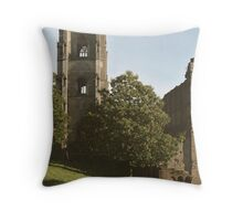 Fountains Tower Throw Pillow