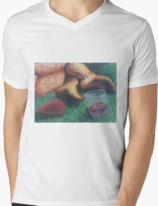 Grass Girl Mens V-Neck T-Shirt