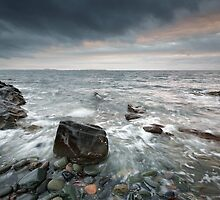 Scottish West Coast Seascape by Grant Glendinning