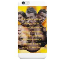 She wore a yellow ribbon - Arsenal iPhone Case/Skin