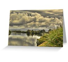 The Mighty Manning River 2 Greeting Card