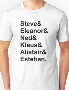 The Life Aquatic Characters T-Shirt