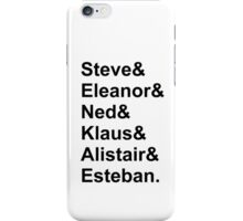 The Life Aquatic Characters iPhone Case/Skin