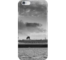 Queen Mary 2 mono iPhone Case/Skin