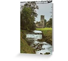 Fountains Abbey Greeting Card