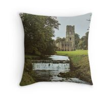 Fountains Abbey Throw Pillow