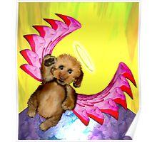 Puppy Angel Poster