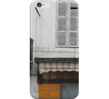 The Boutique and the Balcony iPhone Case/Skin