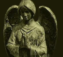 Go To God In Prayer Angel by Marie Sharp