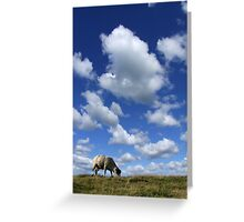 Doesn't that cloud look like a Sheep? Greeting Card