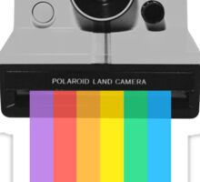 Polaroid Rainbow Sticker