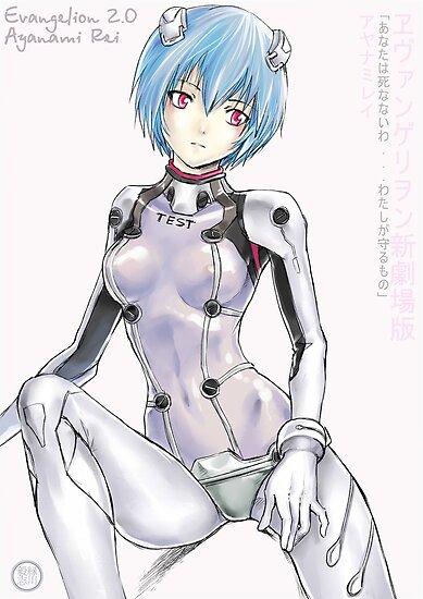 Ayanami Rei_ Evangelion 2.0 by Tsuyoshi