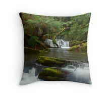 Yannathan Cascades - Great Otways National Park Throw Pillow